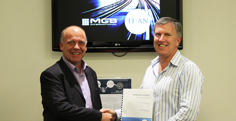 Titan And MGBI On Board For A Total Rail Solution