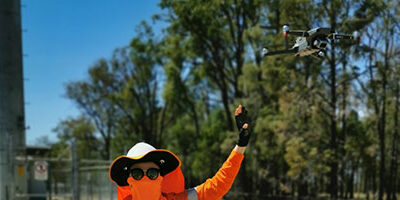Drones are coming soon to a telecommunications tower near you