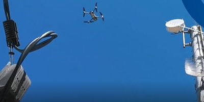 Tower Management with Drone Technology